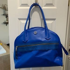 Lululemon Blue Athletic Bag